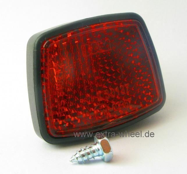 Fahrrad Rückstrahler Rot Reflektor Busch + Müller
