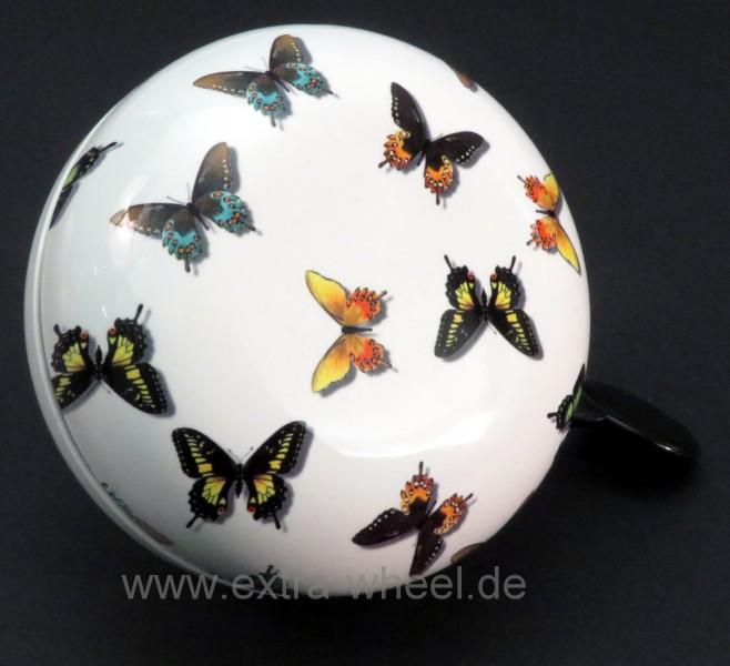 Klingel Ding Dong Glocke 80mm Schmetterlinge