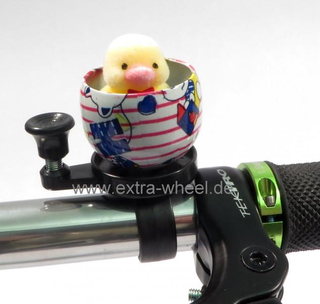 Fahrrad Klingel Kuscheltier Küken