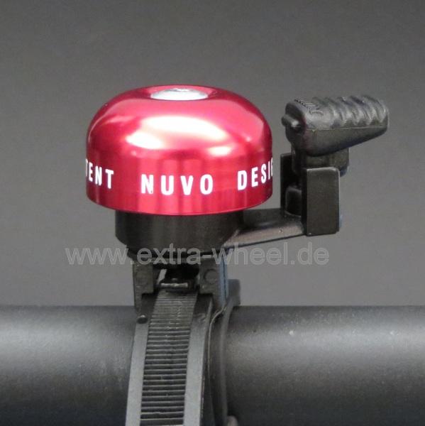 Fahrrad Klingel Clever Rot
