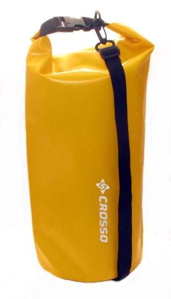 Crosso Seesack Dry Bag 10 Liter Gelb