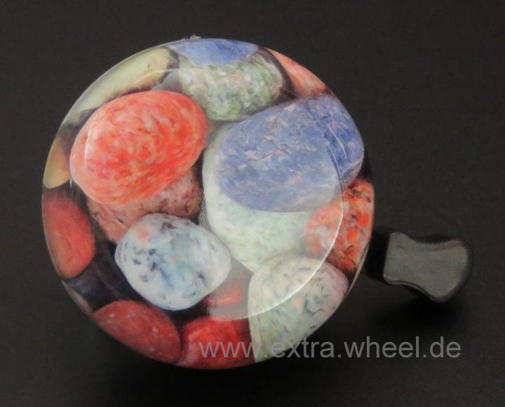 Fahrrad Klingel 54mm Steine
