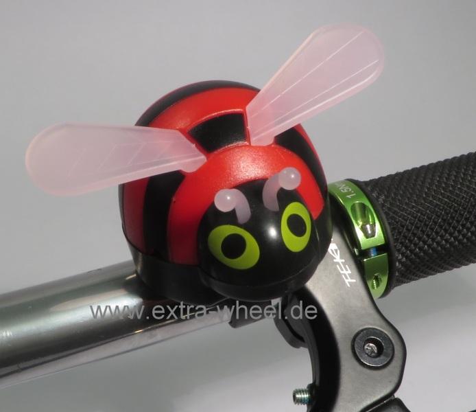 Fahrrad Klingel Kinder Biene Rot