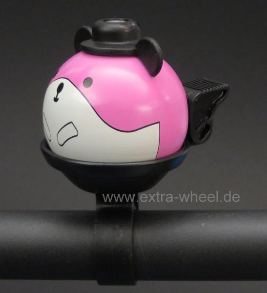 Fahrrad Klingel Kinder Hamster Rosa
