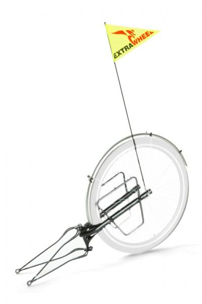 "Anhänger Extrawheel für 29"" Fahrrad ohne Laufrad"