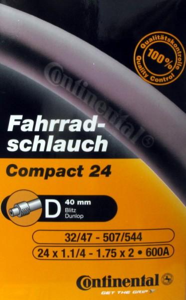 Fahrradschlauch COMPACT 24