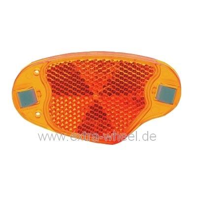 Fahrrad Strahler Gelb Reflektor Speichenstrahler mit Clip B&M