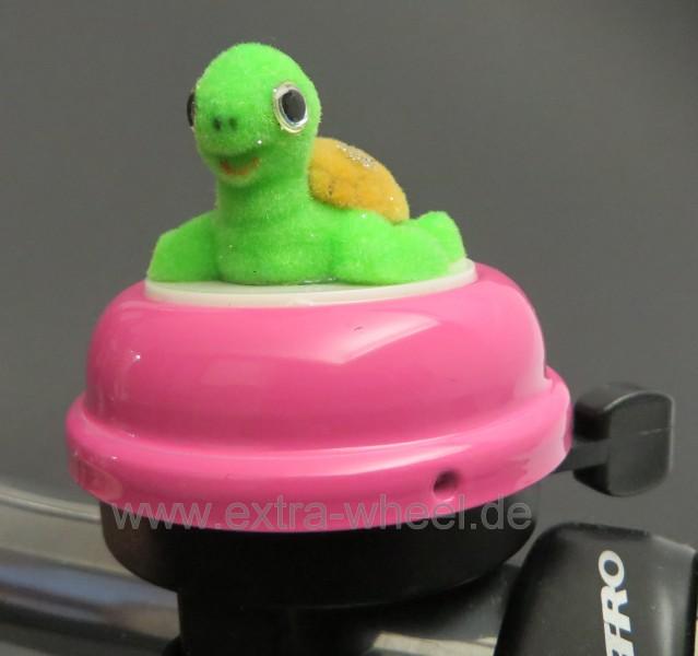 Fahrrad Klingel Kinder Schildkröte Turtle Pink