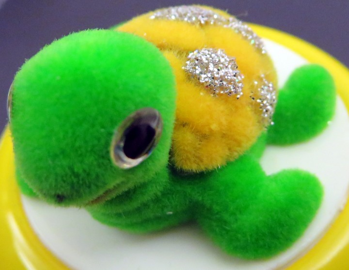 Fahrrad Klingel Kinder Schildkröte Turtle Gelb