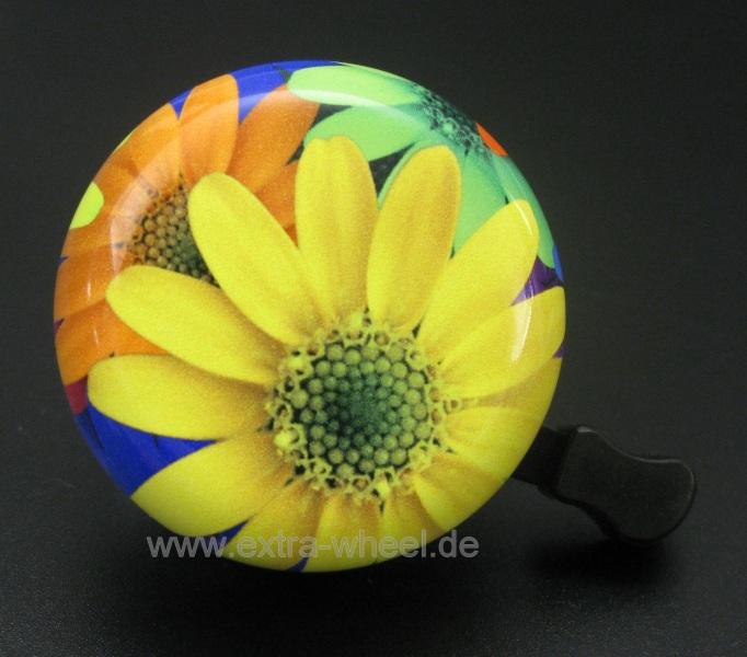 Fahrrad Klingel 54mm Blume