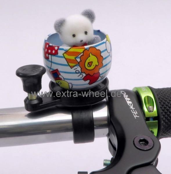 Fahrrad Klingel Kuscheltier Teddy