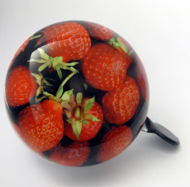 Klingel Ding Dong Glocke 80mm Erdbeeren