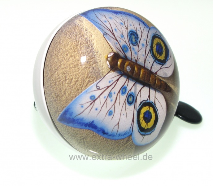 Klingel Ding Dong Glocke 80mm Schmetterling No.1 Motiv