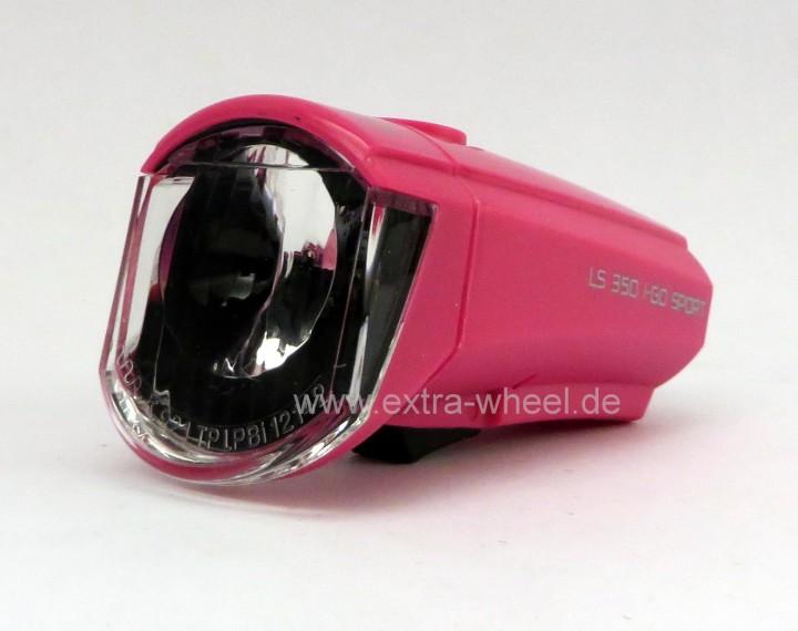 Lichtset LS 350 I-GO SPORT + LS 710 Pink LED