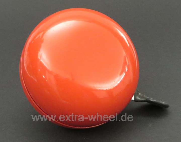 Klingel Ding Dong Glocke 80mm Rot