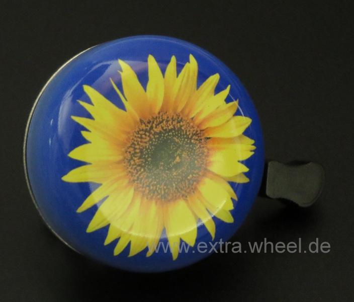 Fahrrad Klingel 54mm Sonnenblume