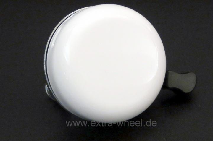 Fahrrad Klingel 54mm Weiß