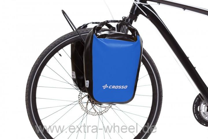 Fahrradtaschen Dry Big Blau 60 Liter Volumen