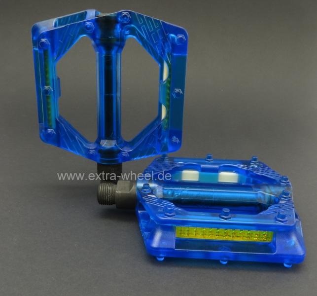 BMX Pedale Blau