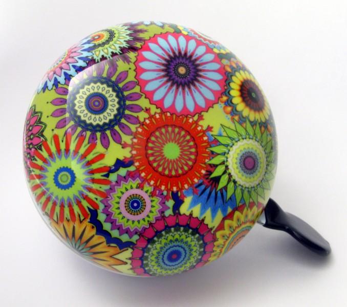 Klingel Ding Dong Glocke 80mm Blumen