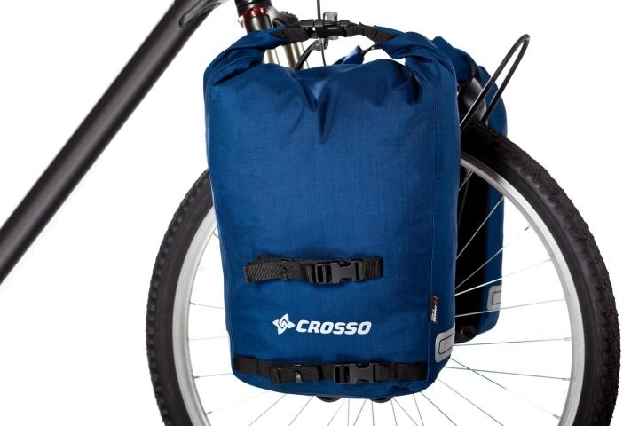 Fahrradtaschen Twist Small Blau 35 Liter Volumen