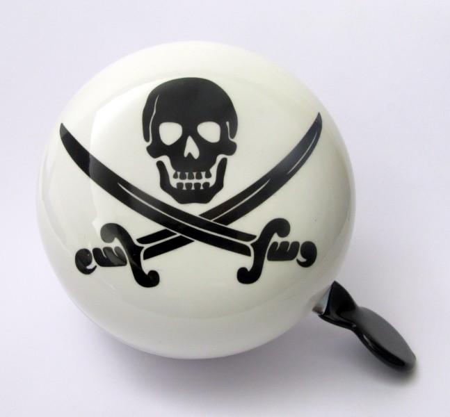 Klingel Ding Dong Glocke 80mm Pirat