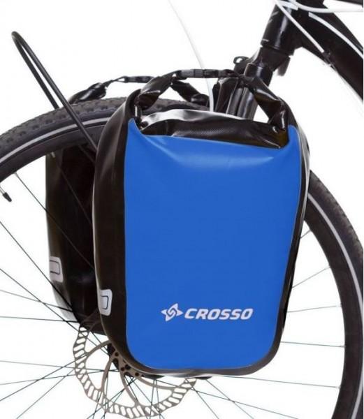 Fahrradtaschen blau