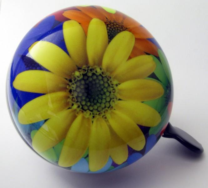 Klingel Ding Dong Glocke 80mm Blume