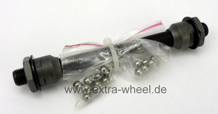 Hinterrad Achse 140mm für Schnellspanner