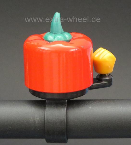 Fahrrad Klingel Kinder Paprika Rot